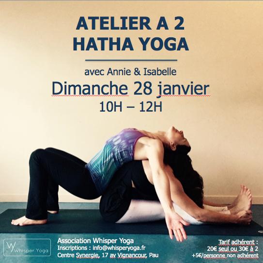 Atelier Hatha Yoga a 2