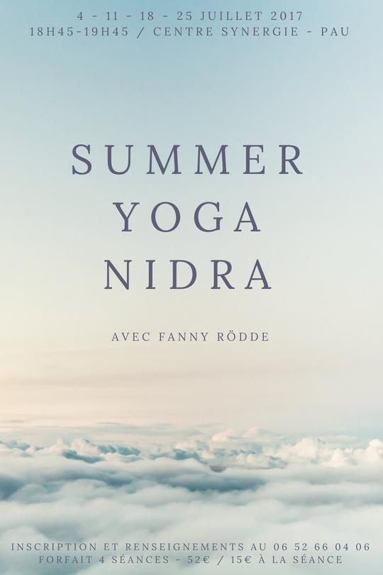 summer yoga nidra